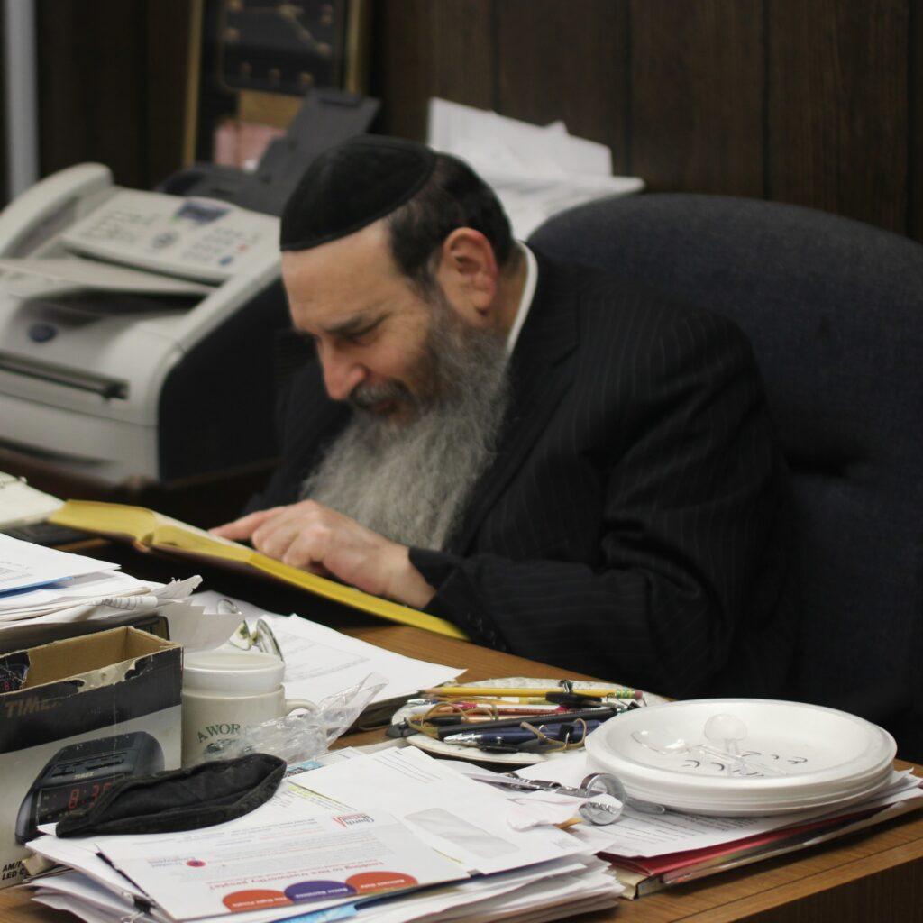 Rosh HaYeshiva Rabbi Menachem Davidowitz